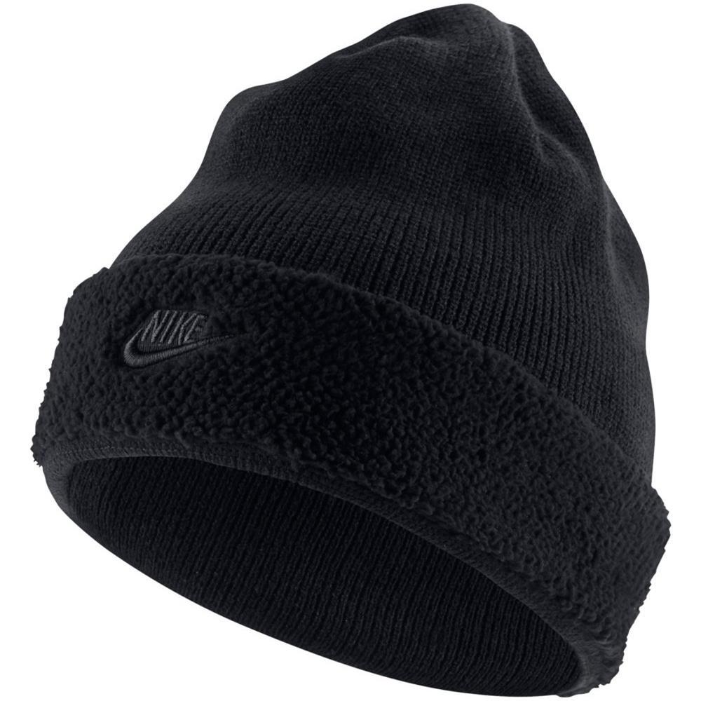 disponibile scarpe originali cieco NIKE - Cappello Beanie Sherpa - Taglia: Unica - Colore: Nero - ePRICE