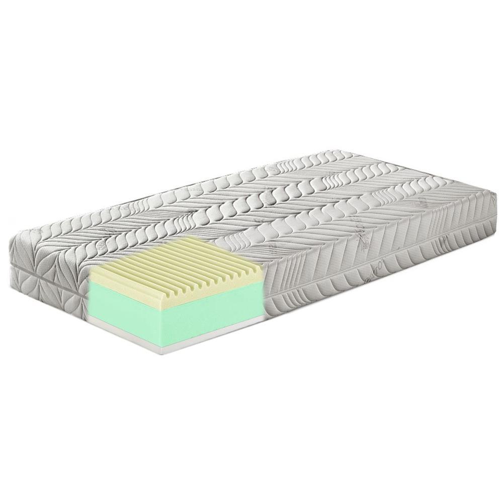 ETRACOM - Materasso Memory Foam Ondulato e Lattice Singolo 90x190 ...