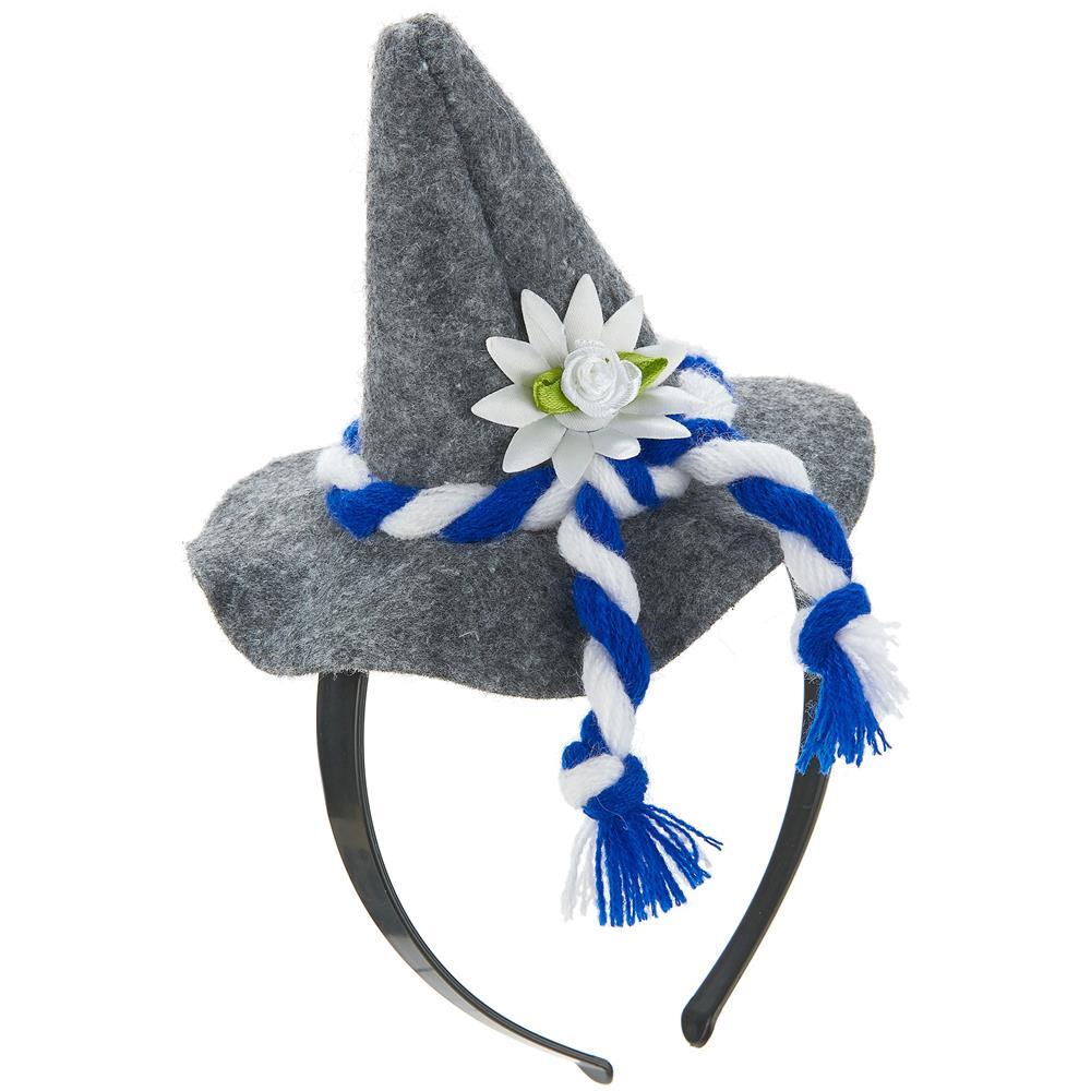 JADEO - Cerchietto Con Mini Cappello Bavarese Per Adulto Taglia ... 00bf131f9399