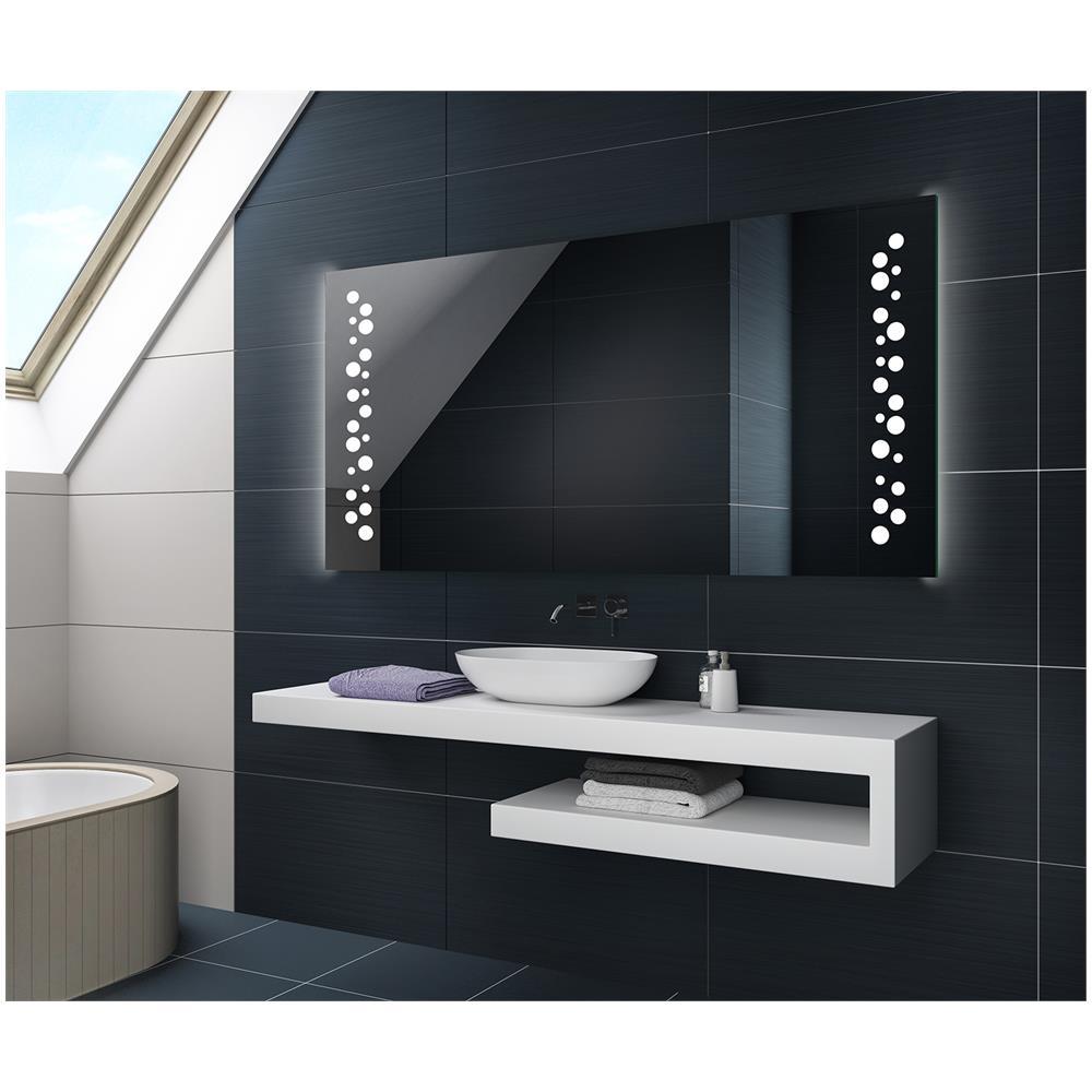 ARTFORMA   Controluce Led Specchio 120x50cm Su Misura Illuminazione Sala Da  Bagno L65   EPRICE