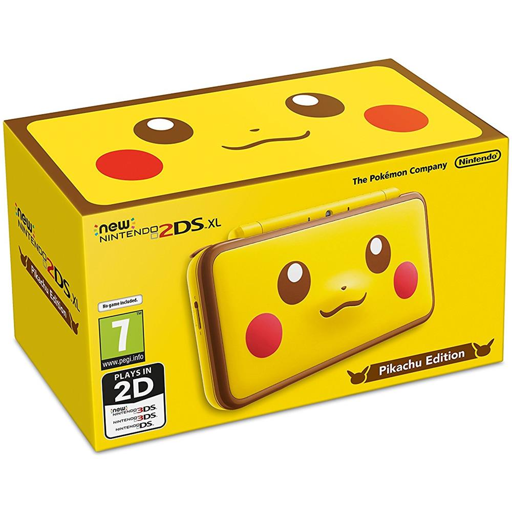 New 2DS XL Console Pikachu Edition