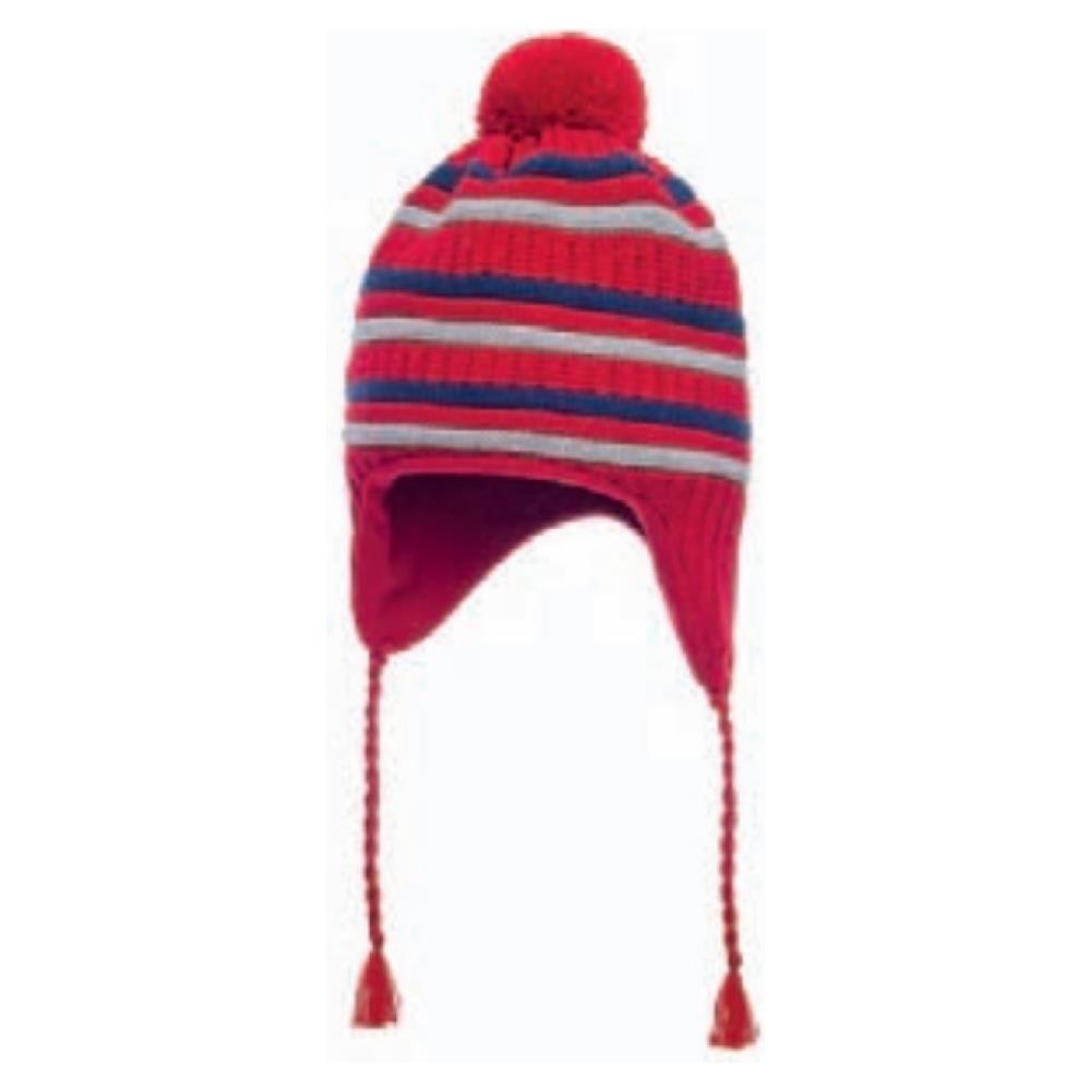 7e321ef045 Marini Silvano - Cappello Bambino Peruviano Unica Grigio Rosso - ePRICE