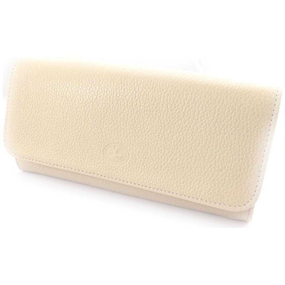 45c9c1cd3a Frandi - portafoglio in pelle di grandi dimensioni '' beige grana - [  k0413] - ePRICE