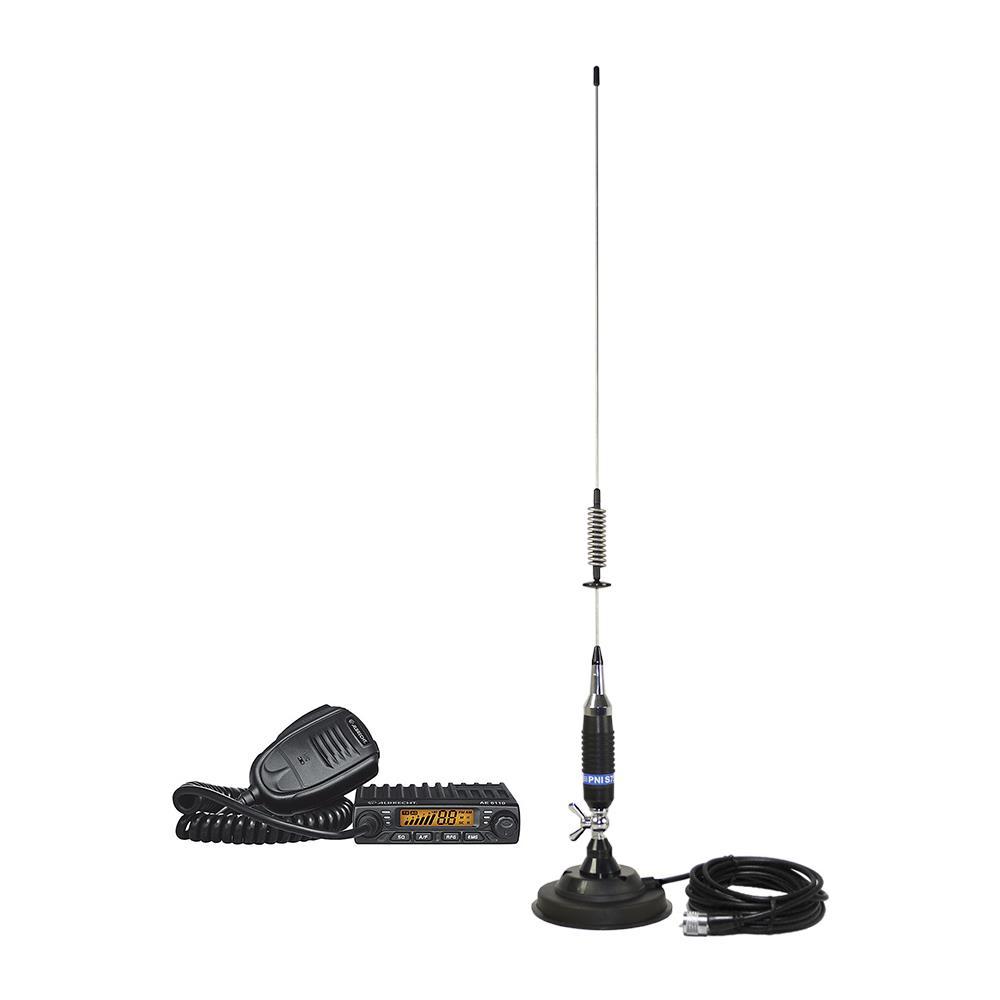 CB collegamento antenna radio