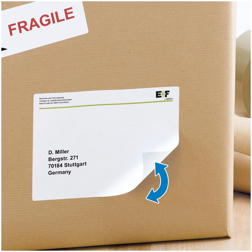 Herma Adhesive labels white A4 Movables 99,1x139 400 pcs