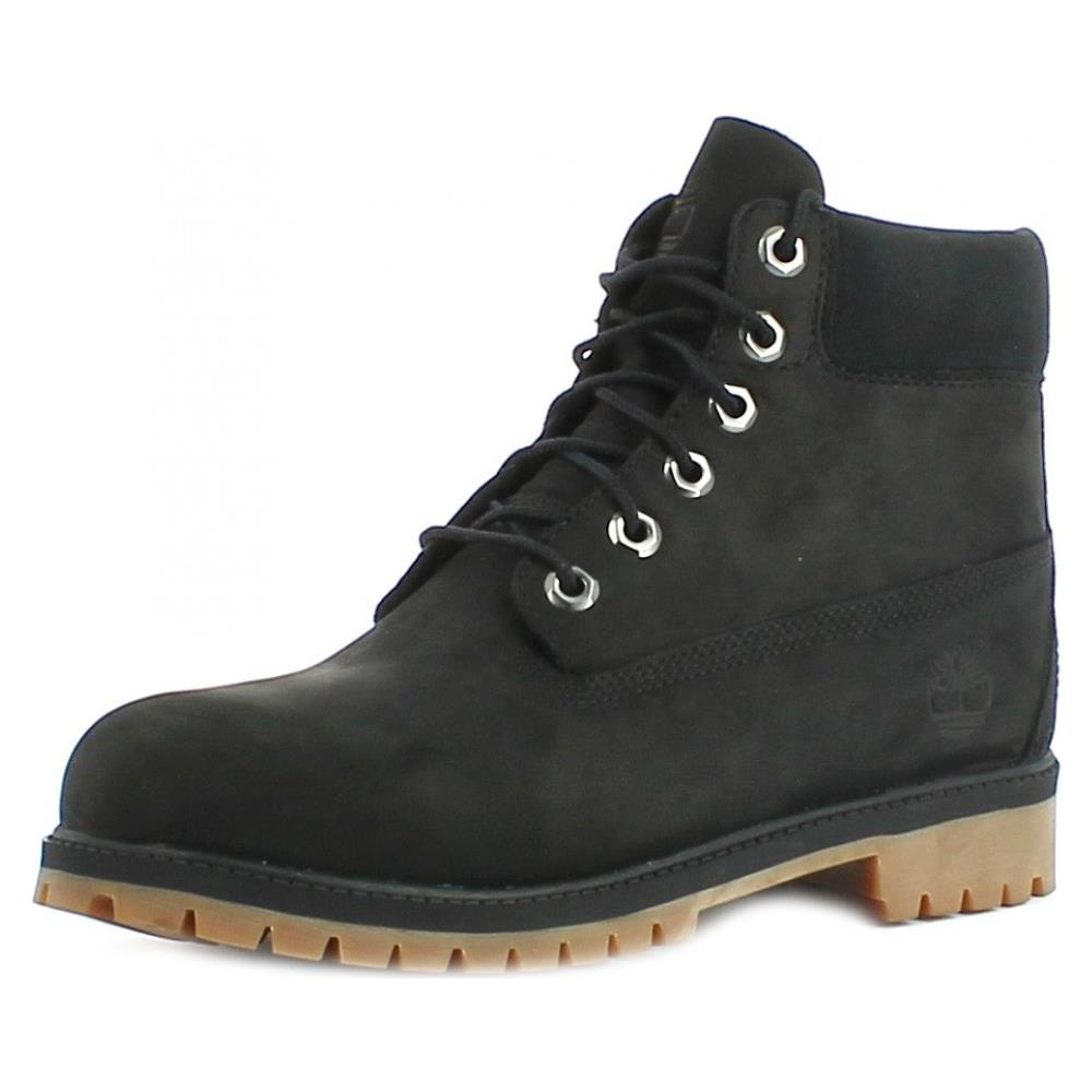 TIMBERLAND - 6 In Premium Scarponcini Donna Neri Pelle 38 - ePRICE 28a1ed0a357