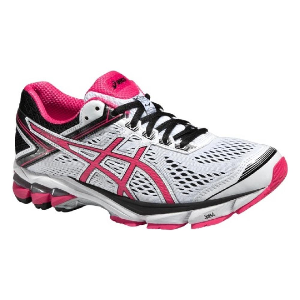 online store 9c9ff 806fe Asics - Scarpa Donna Gt 1000 4 A4 Stabile 35,5 Bianco Rosa ...