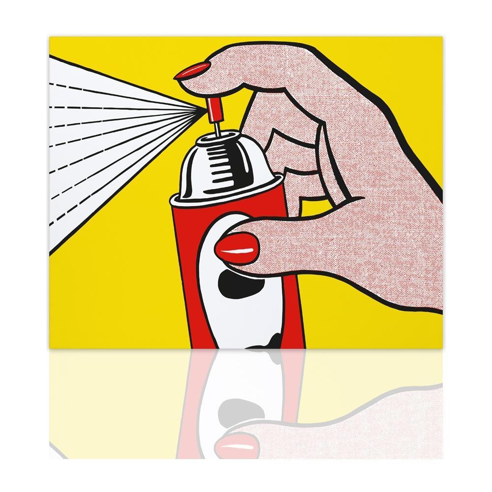 Declea - Quadro Moderno Spray Tributo A Roy Lichtenstein Quadro ...