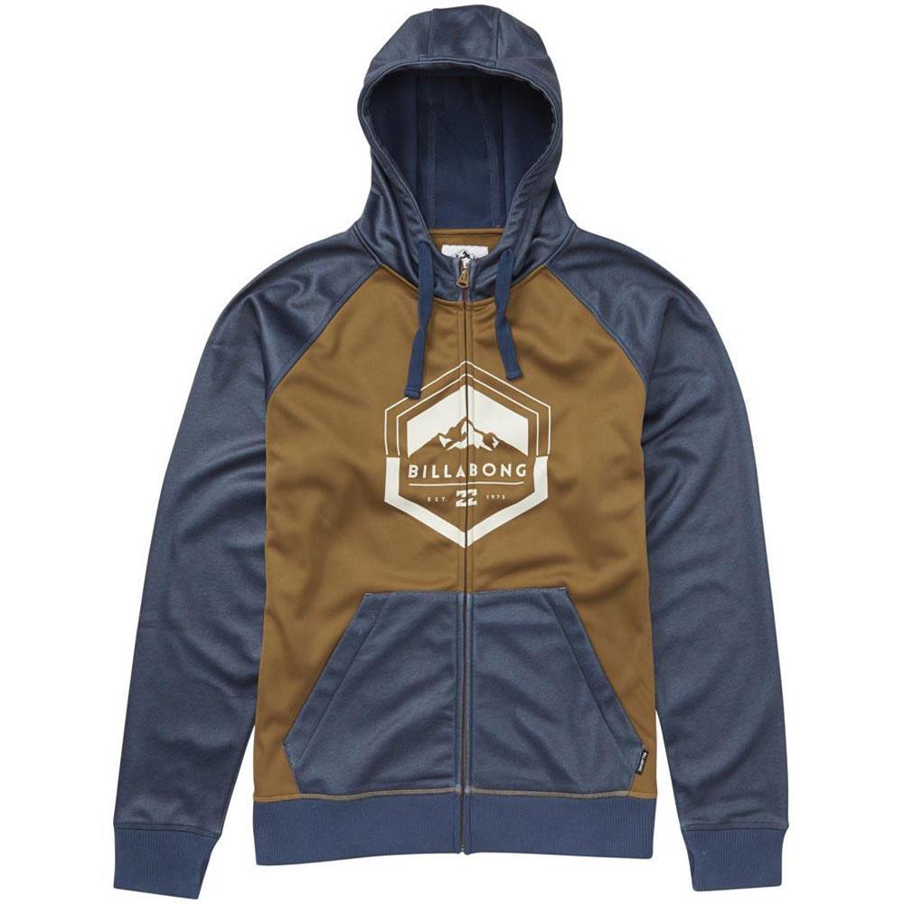 Uomo Hoodie Billabong Downhill L Felpe Zip Abbigliamento Xqn0nHwU