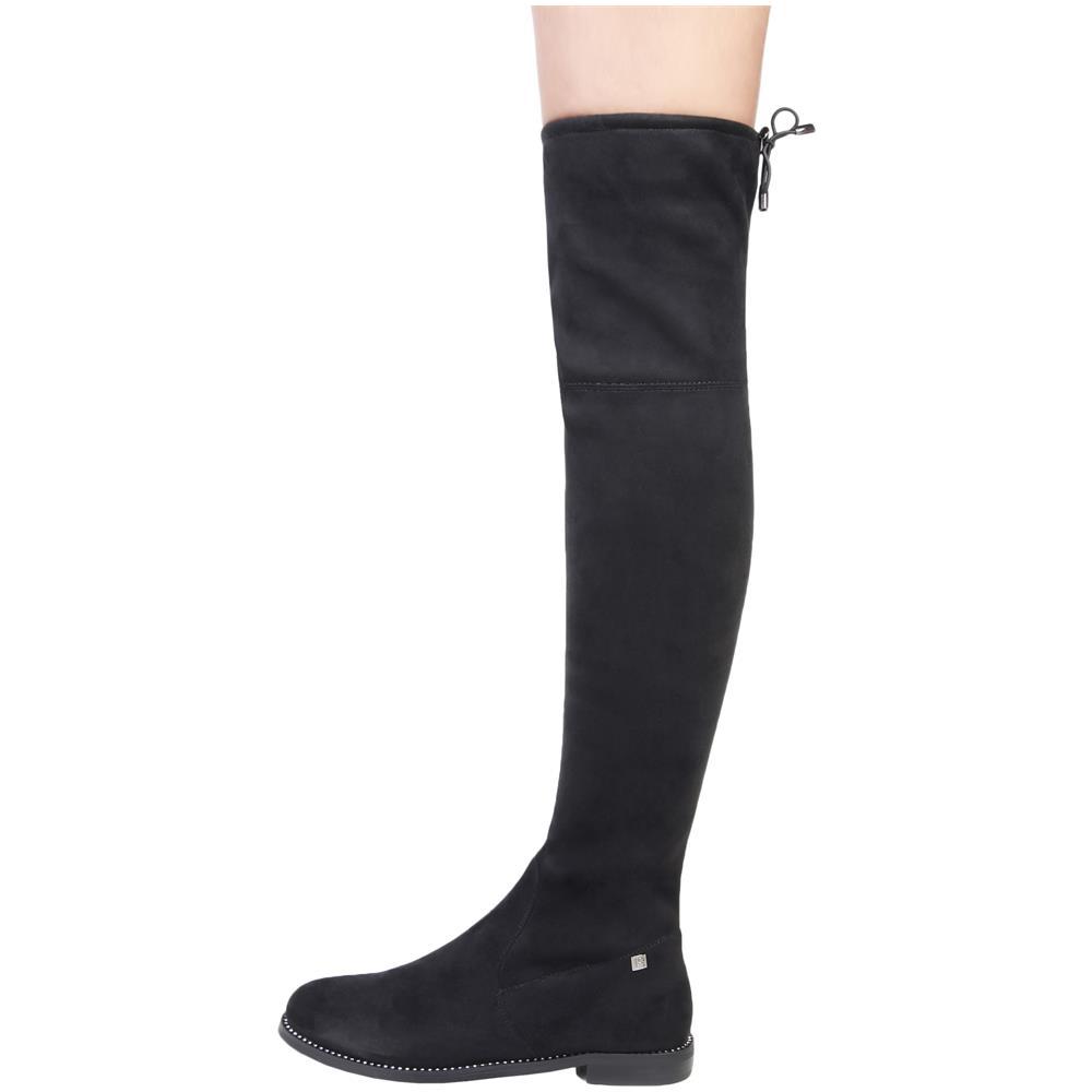 Black Nero Donna Stivali Stivali Tacchi Per Laura Biagiotti