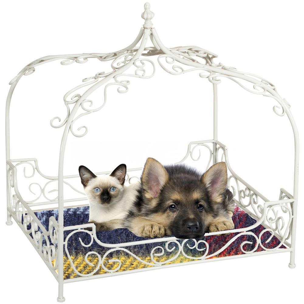Cuccia Gatto Fai Da Te biscottini lettino cuccia per cani e gatti in ferro l66xpr55,5xh69 cm