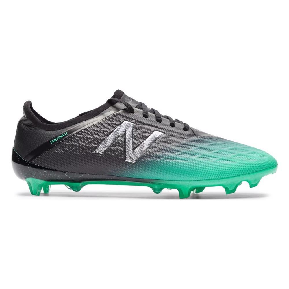 NEW BALANCE Scarpe Calcio New Balance Furon V5 Pro Fg Black Green Pack - Taglia: 45,5 - Colore: Nero Verde
