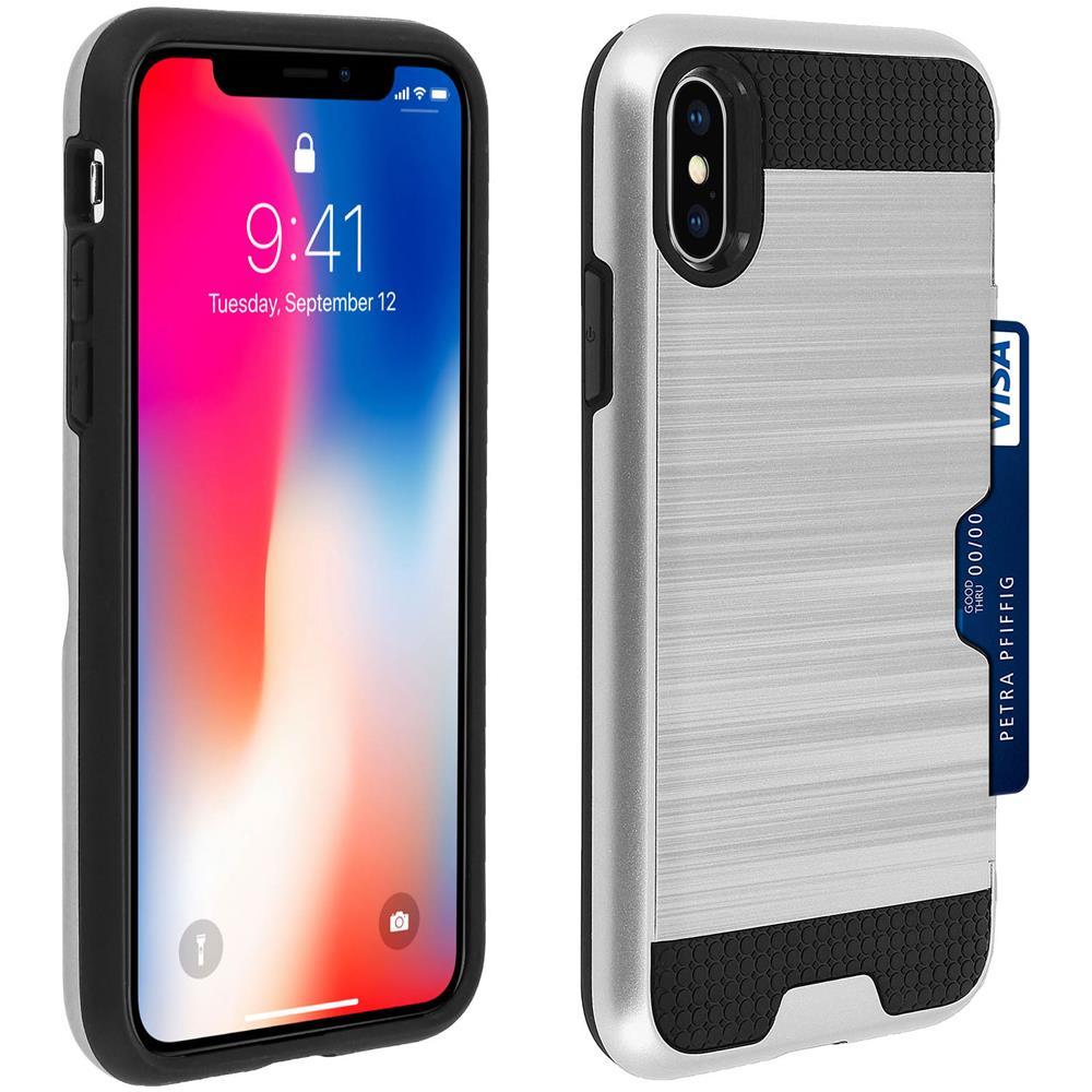 Avizar - Cover Apple Iphone Xs Max Protezione Silicone + Dorso