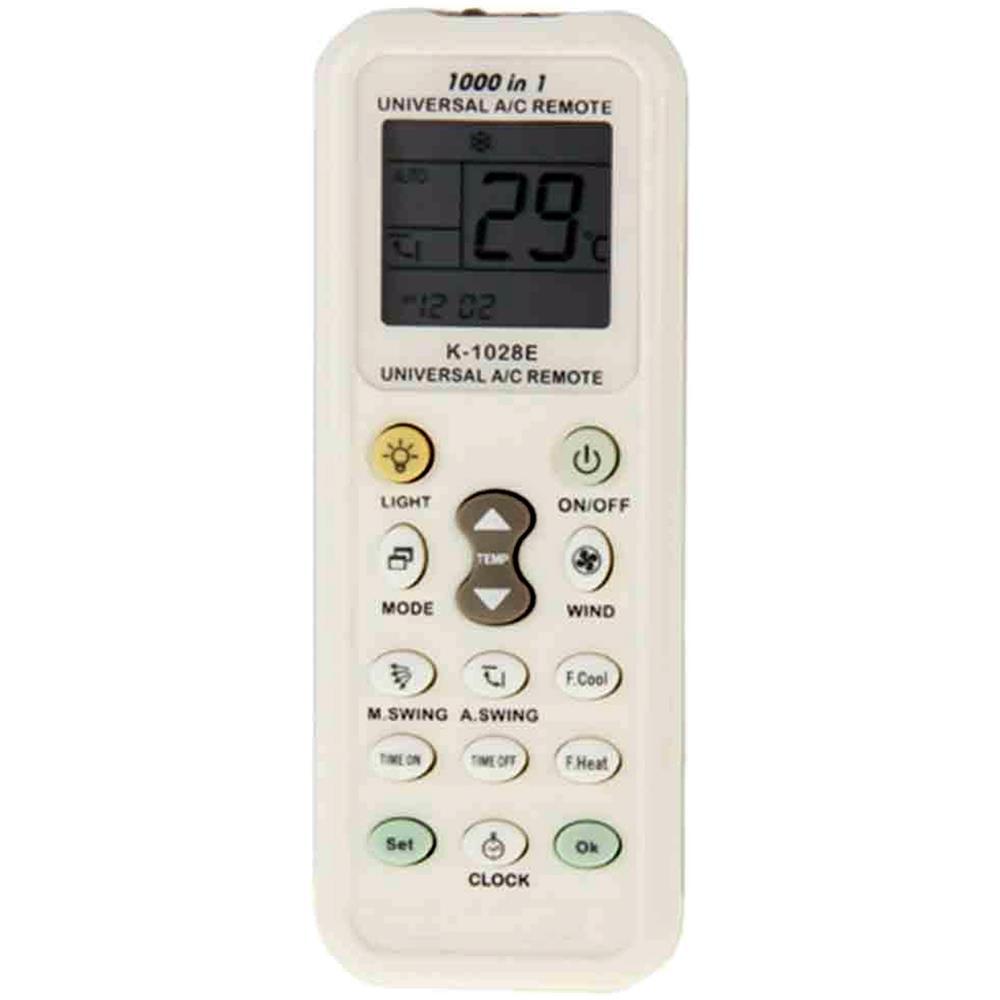 Telecomando 1000 in 1 universale schermo LCD AC per condizionatore di climatizzazione.