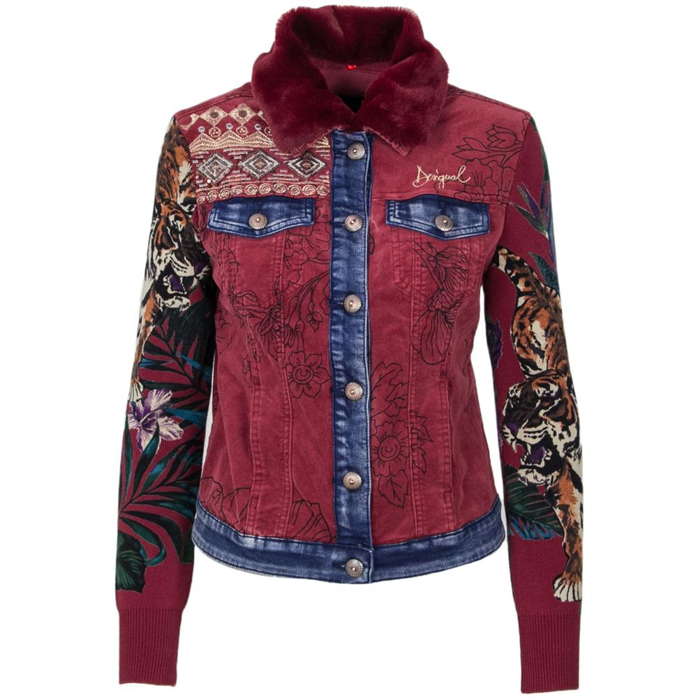 Eprice Rosso Giacca Desigual Donna 38 Poliestere 18wwen09red Taglia nwBnqUCz7