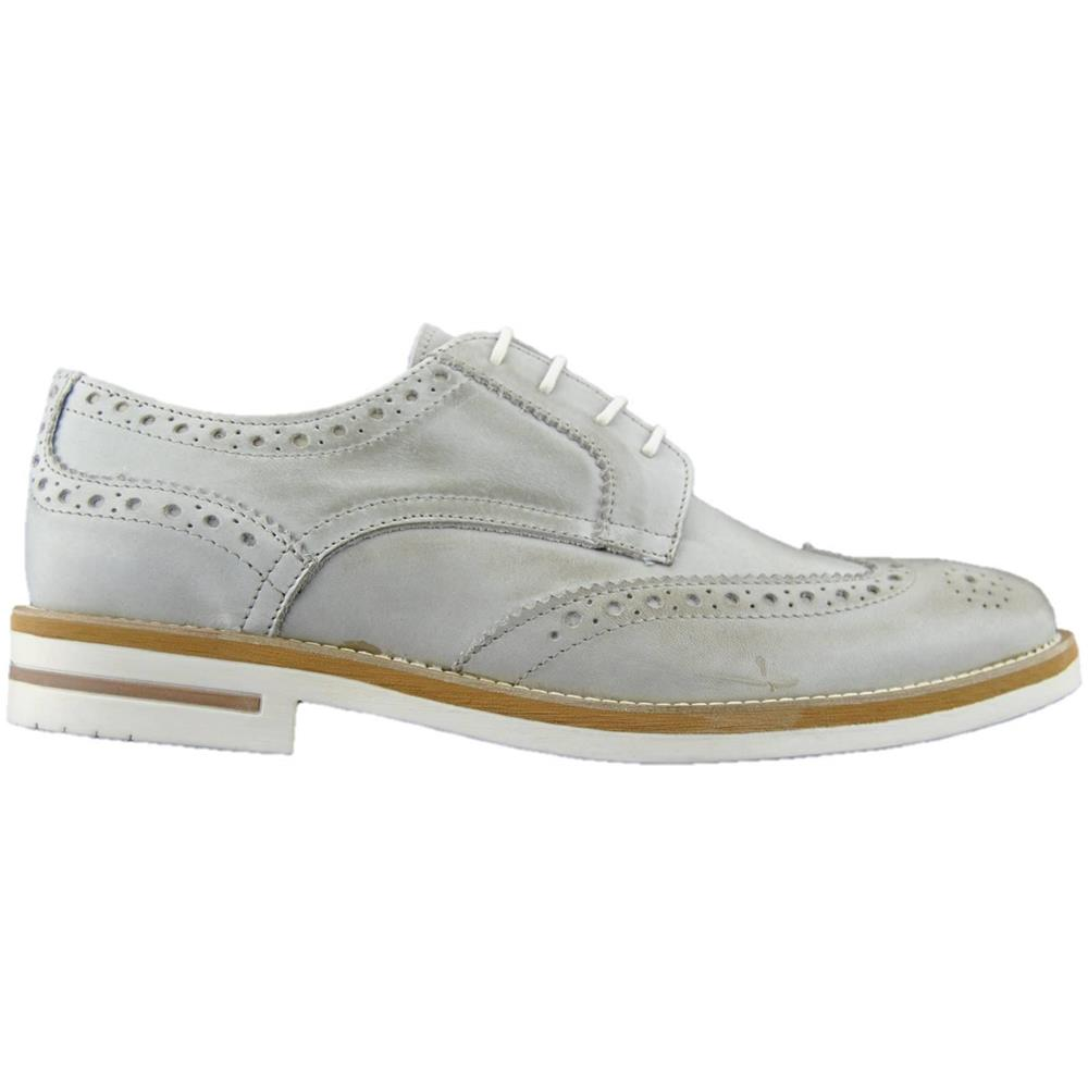 timeless design a8233 5e1b2 MADE IN ITALY Scarpe Francesine Uomo Pelle Made In Italy Beige 43