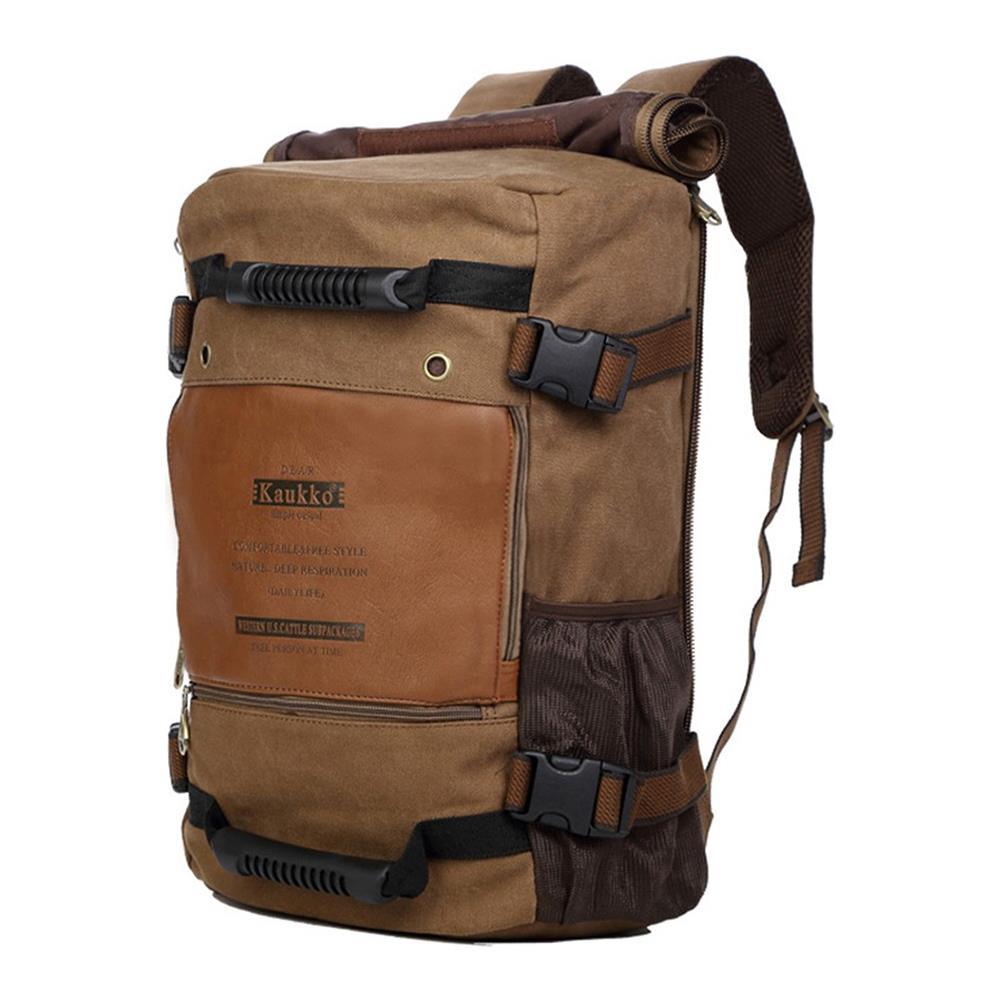 31fe42733f Tutte le immagini. KAUKKO 22l Zaino Da Viaggio Multifunzionale Da Trekking  Camping Canvas Funzionale Borsa Per Laptop Borse Versatili