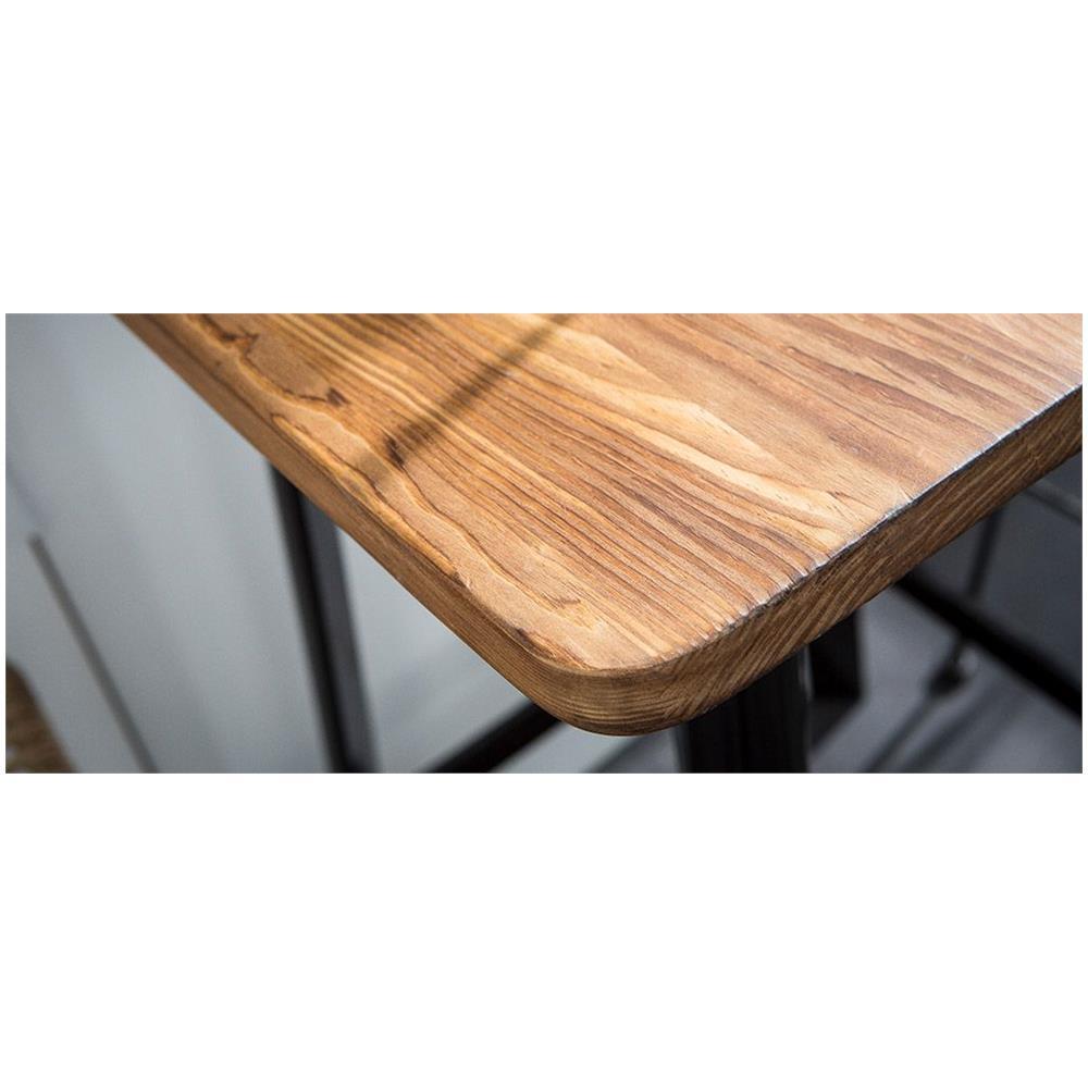 Miliboo Tavolo Da Bar Design Nero Jones Eprice