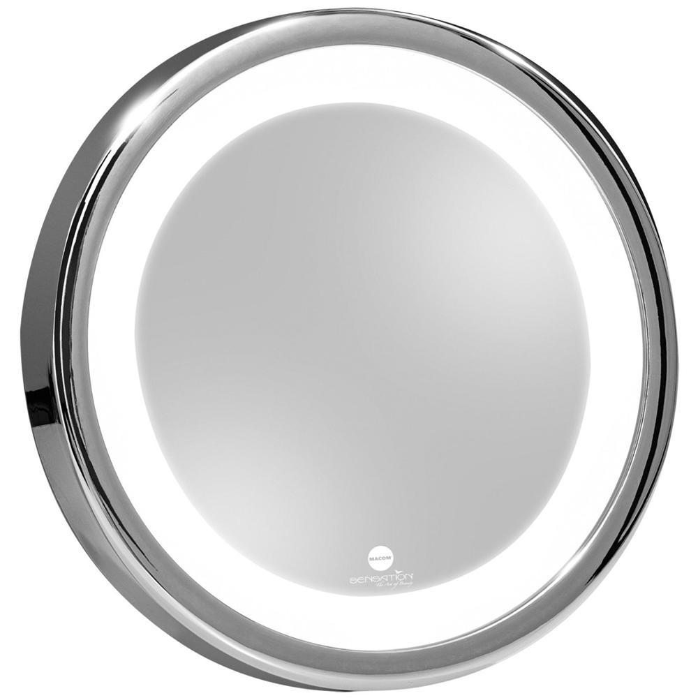 211 Solar Sensation Specchio Trucco Ingrandente con Luce Led e Ventose
