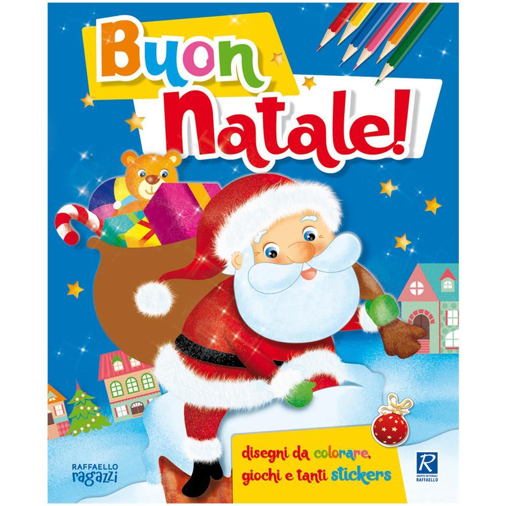 Adesivi Buon Natale.Raffaello Francesca Costa Buon Natale Coloro Con Gli Stickers Con Adesivi Ediz Illustrata Eprice