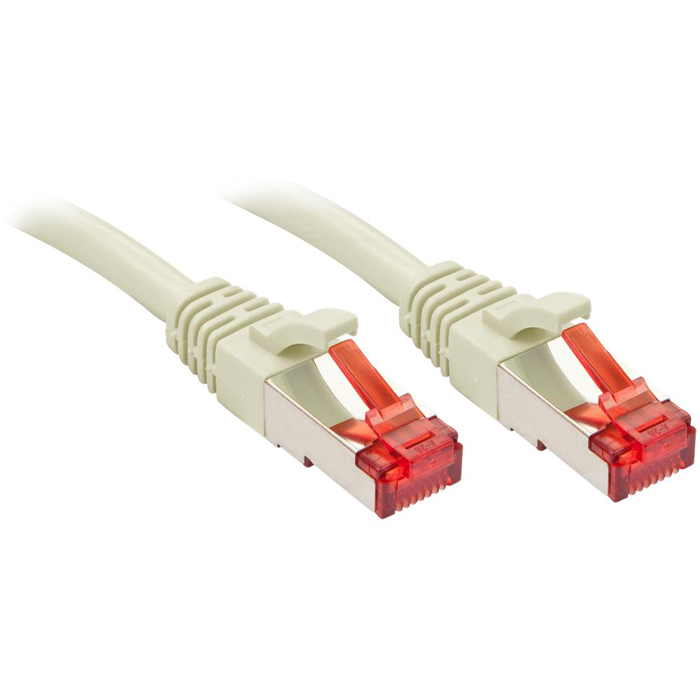 shiverpeaks Patch Cable Category 6/S//FTP PIMF 5/m Angled Straight White