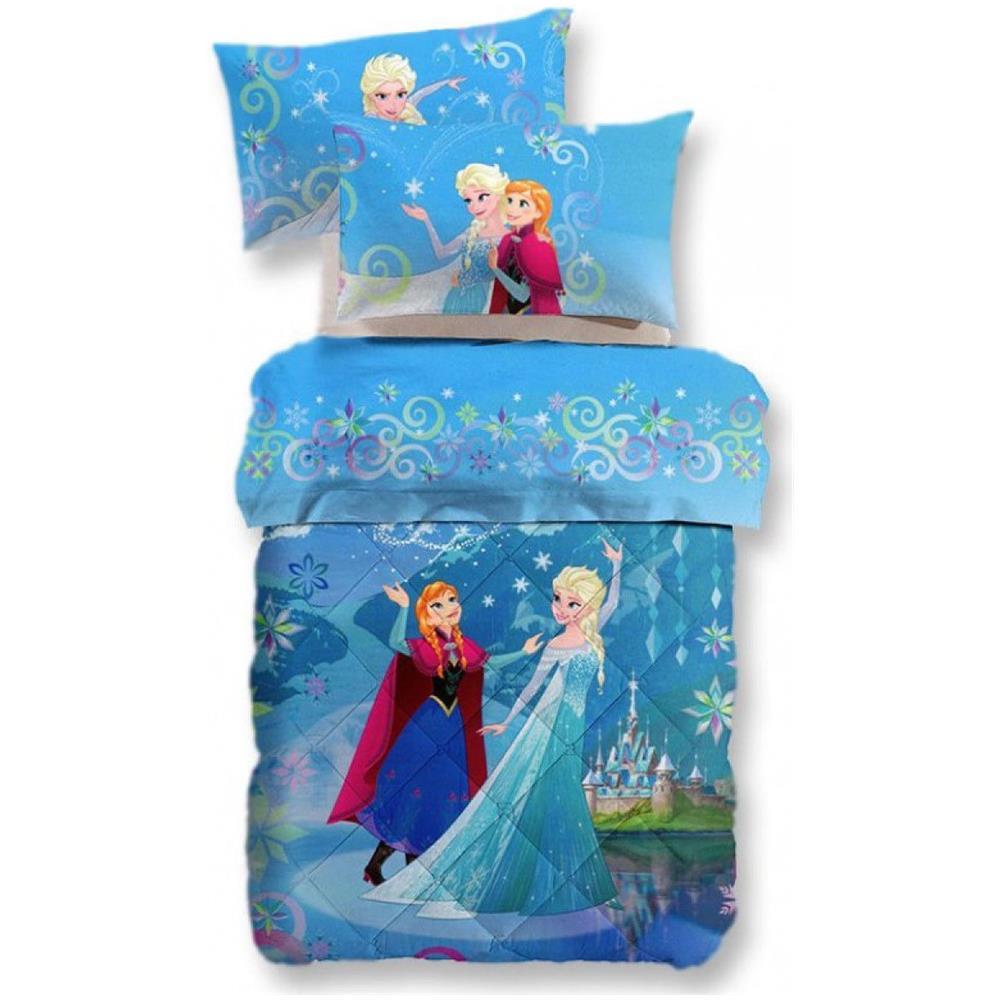 Trapunte E Piumoni Disney.Walt Disney Trapunta Invernale Frozen Magic Disney Caleffi Digitale Singola Una Piazza R309 Eprice