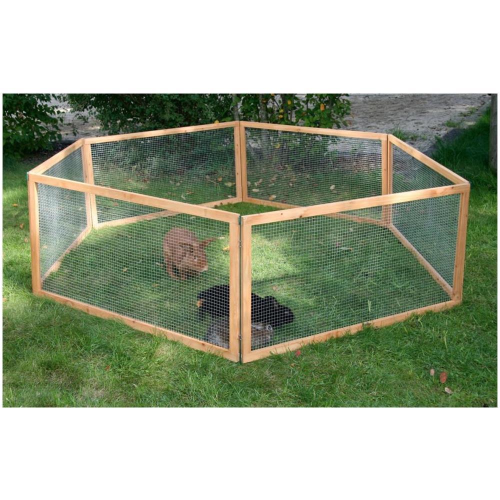 Animali Da Esterno kerbl recinto esterno per animali domestici vario legno marrone 84399