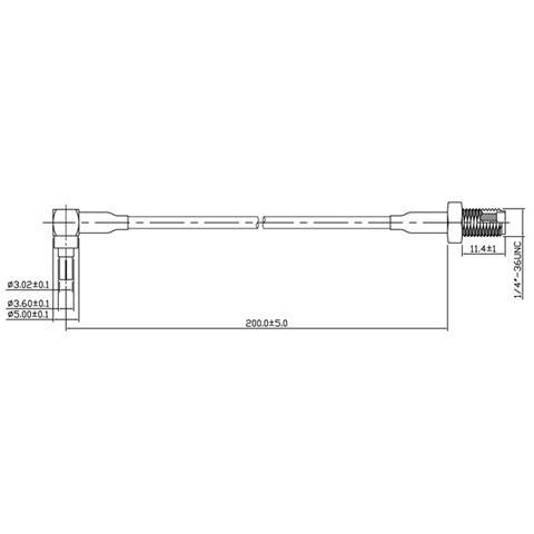 DeLOCK 88466 CRC-9 SMA Nero, Oro, Argento cavo di interfaccia e adattatore