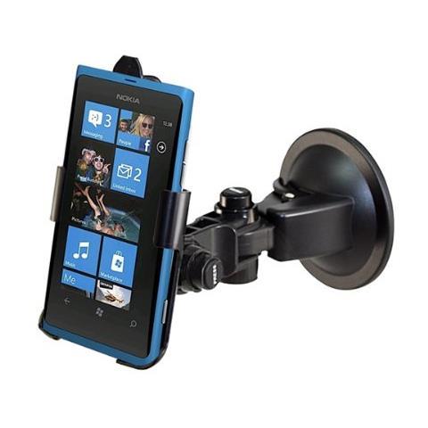 Aquarius AQ-190-LUMIA-800 Auto Active holder Nero supporto per personal communication