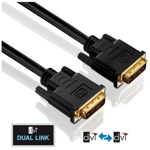 PureLink DVI-D M-M 3m, 3m, DVI-D, DVI-D