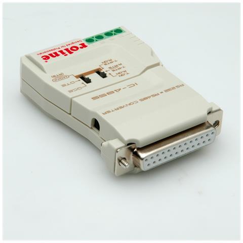 Roline Converter RS232-RS485, without Galvanic Isolation Grigio cavo di interfaccia e adattatore