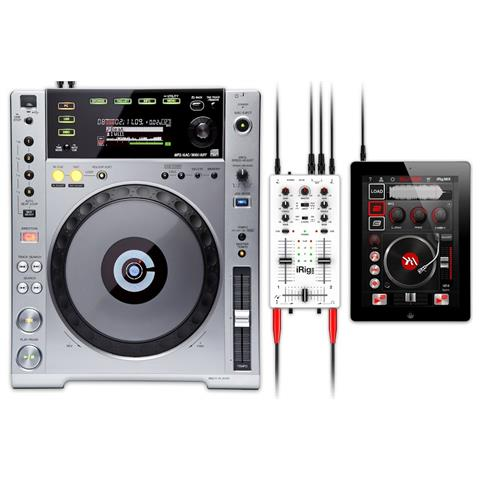 IK MULTIMEDIA iRig MIX, -80 dBi, -80 dBi, 20 - 20000 Hz, 3V, 0,05%, 6.3 mm