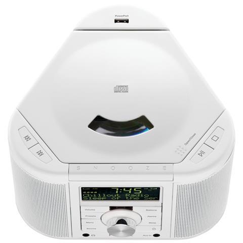 Pure Chronos CD Series II, Portatile, Digitale, DAB, DAB+, DMB, FM, 10W, LCD, 3.5 mm