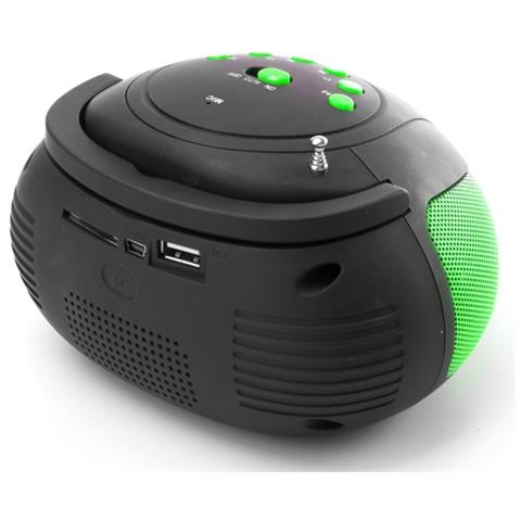 NGS Green Fire Antzz, FM, 6W, Blu, 1,3 cm, 1,1 cm, 8 mm