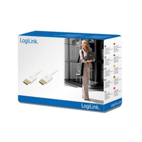 LOGILINK 2m HDMI A / A, 2m, HDMI, D-sub (DB-25)