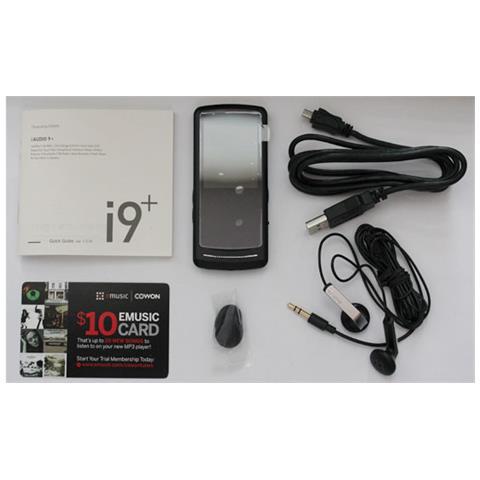 Cowon iAUDIO 9+ 16GB, Flash-media, Nero, USB 2.0, Pentium III, LCD, FM