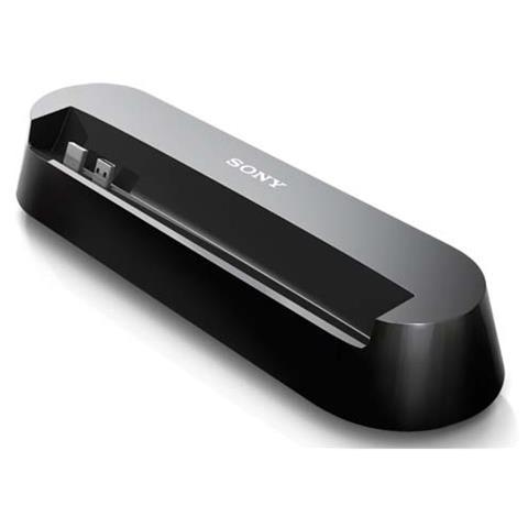 SONY Mobile SmartDock DK20, Smartphone, , Xperia P, Nero, USB