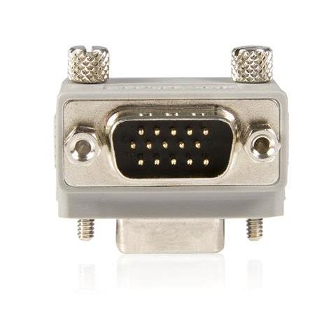 STARTECH.COM VGA Cable adapter DB15 M DB15 FM Grigio cavo di interfaccia e adattatore