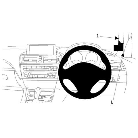 Brodit ProClip 604722 Auto Passive holder Nero