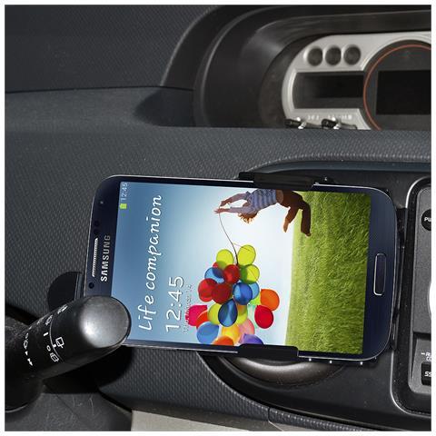 Amzer AMZ95630 Auto Passive holder Nero supporto per personal communication