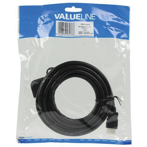 VALUELINE HDMI - HDMI, 3.0m, 3m, HDMI, HDMI, Sacchetto di politene
