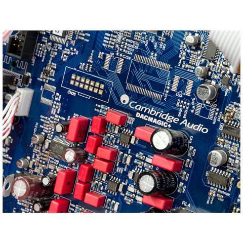 CAMBRIDGE AUDIO DacMagic Plus Digital to Analogue Converter & Pre-amplifier, 20Hz - 20kHz, 24-bit / 384kHz