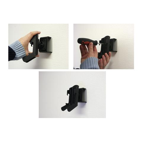 Brodit 848980 Passive holder Nero supporto per personal communication