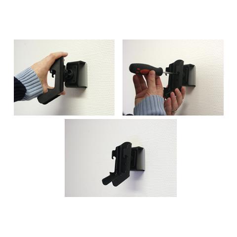 Brodit 848980 Passive holder Nero supporto per personal communication