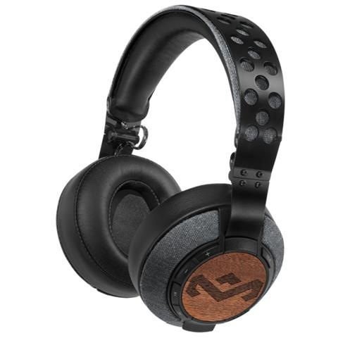 """Marley The House Of Marley Liberate XLBT, Stereofonico, 3.5 mm (1/8"""") , Padiglione auricolare, Nero, Wired / Bluetooth, Circumaurale"""