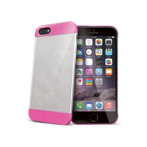 CELLY Glamme Glitter per iPhone 6 Plus - Colore fucsia