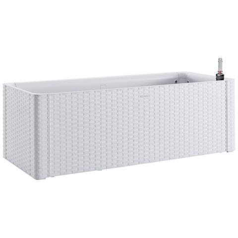 Fioriera Natural Deluxe Bianco 100x43x33h cm