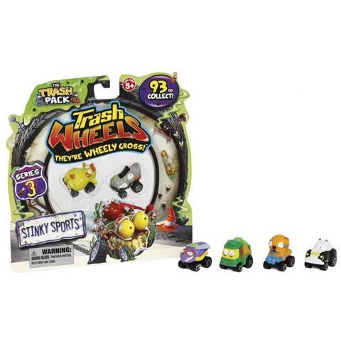 06d1f2db94 Giochi Preziosi - Trash Pack Wheels 2 Pz. Tv - Giochi-giocattoli ...