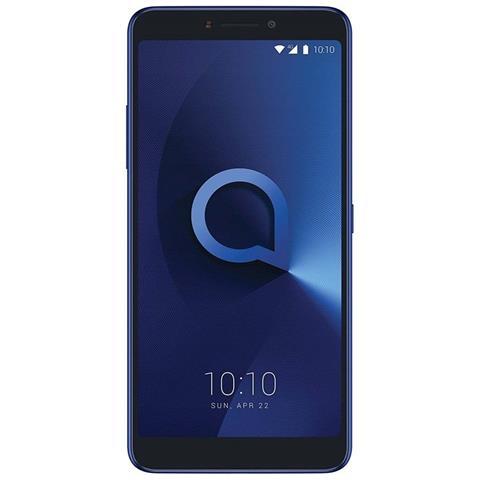 "ALCATEL 1X Blu Scuro 16 GB 4G / LTE Dual Sim Display 6"" Full HD Slot Micro SD Fotocamera 12 Mpx Android Ital"