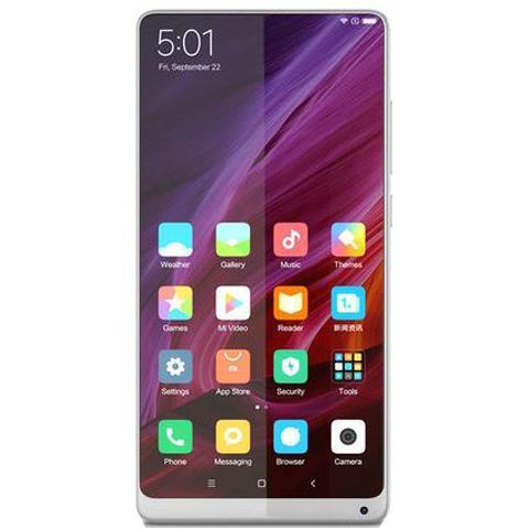 Mi Mix 2 Bianco Dual Sim Display 5.99'' Full HD Ram 6GB Storage 128GB +Slot MicroSD Wi-Fi + 4G Fotocamera 12Mpx Android - Europa